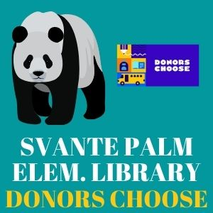 Palm Elementary Library Donors Choose page