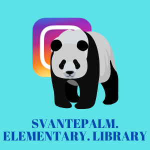 Palm Elementary Library Instagram Account